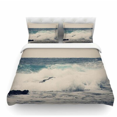 Ocean 1 by Sylvia Coomes Coastal Featherweight Duvet Cover Size: Queen