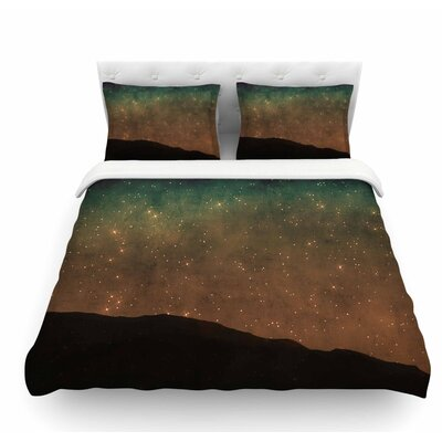 Star Light by Sylvia Coomes Featherweight Duvet Cover Size: King