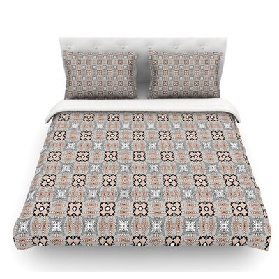 African Nomad by Vasare Nar Featherweight Duvet Cover Size: King