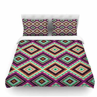 Boho Gipsy by Vasare Nar Featherweight Duvet Cover Size: King