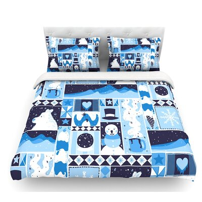 Winter by Tobe Fonseca Seasonal Featherweight Duvet Cover Size: King