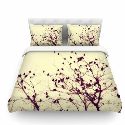 Darkness into Light by Sylvia Coomes Nature Featherweight Duvet Cover Size: Queen