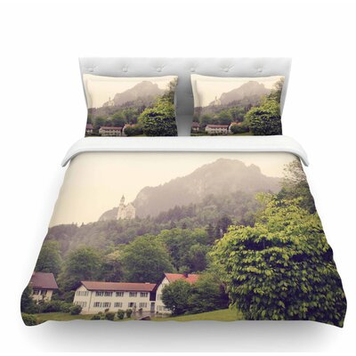 German Beauty by Sylvia Coomes Travel Featherweight Duvet Cover Size: Twin