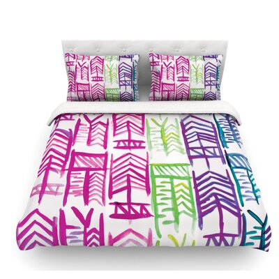 Quiver III by Theresa Giolzetti Featherweight Duvet Cover Size: Twin