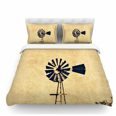 We are in Kansas by Sylvia Coomes Travel Featherweight Duvet Cover Size: Twin