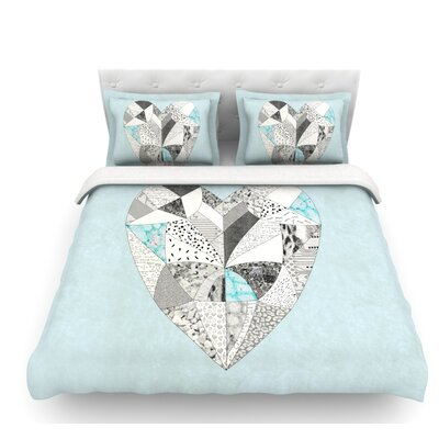 Comheartment by Vasare Nar Featherweight Duvet Cover Size: Queen