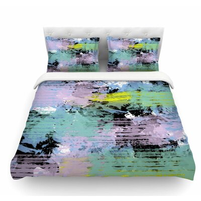 Watercolor Texture by Vasare Nar Featherweight Duvet Cover Size: Twin