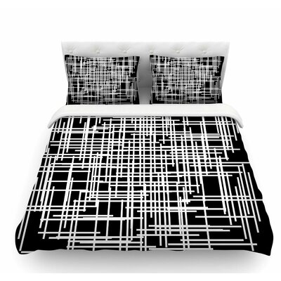Visina by Trebam Abstract Featherweight Duvet Cover Size: Queen
