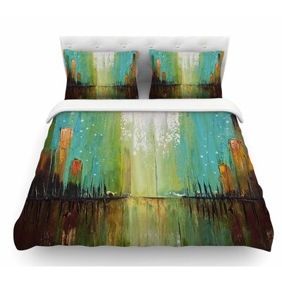 Twilight Imaginings by Steve Dix Featherweight Duvet Cover Size: Queen