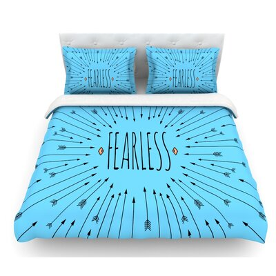 Fearless by Skye Zambrana Featherweight Duvet Cover Size: King
