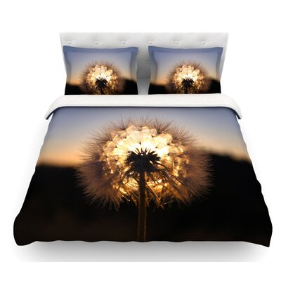 Glow by Skye Zambrana Featherweight Duvet Cover Size: Queen