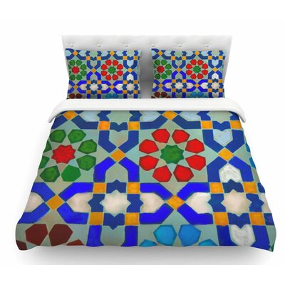 Morrocon by S. Seema Z Featherweight Duvet Cover Size: King