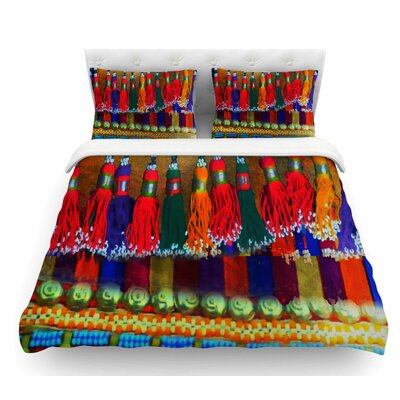 Boho Mania by S. Seema Z Ethnic Featherweight Duvet Cover Size: Queen