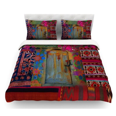 Ethnic Escape by S. Seema Z Ped Featherweight Duvet Cover Size: Queen