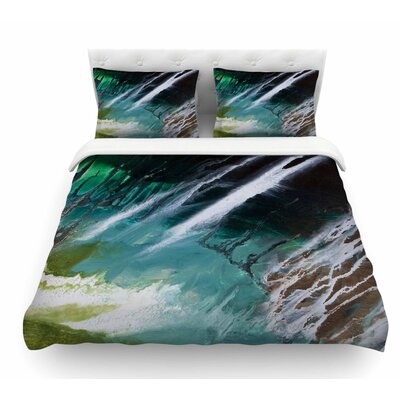 Ocean Majestic by Steve Dix Featherweight Duvet Cover Size: Queen