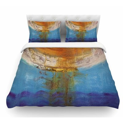 Source of Energy by Steve Dix Featherweight Duvet Cover Size: King