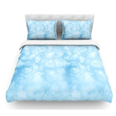 Winter is Coming by Snap Studio Featherweight Duvet Cover Size: Queen