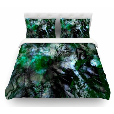 Camouflage by Shirlei Patricia Muniz Featherweight Duvet Cover Size: Twin