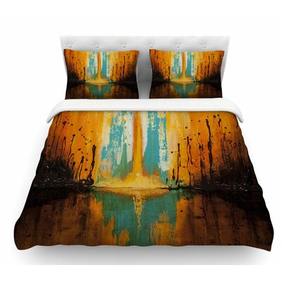 Inception or Birth by Steve Dix Featherweight Duvet Cover Size: Twin