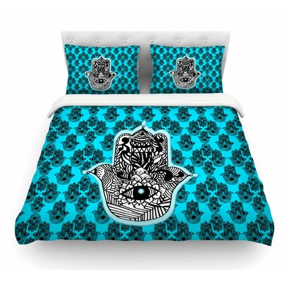 The Eye by Shirlei Patricia Muniz llustration Featherweight Duvet Cover Size: Queen