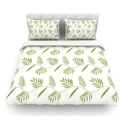 Ferngully by Snap Studio Featherweight Duvet Cover Size: King