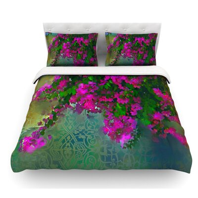 Khushbu by S. Seema Z Featherweight Duvet Cover Size: King