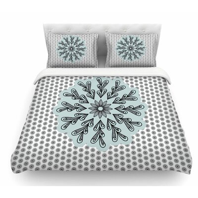My Flower by Shirlei Patricia Muniz Abstract Featherweight Duvet Cover Size: Twin