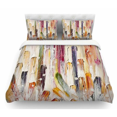 Candy Icing by Steve Dix Featherweight Duvet Cover Size: Queen