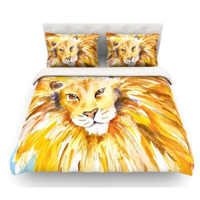Wild One by Padgett Mason Featherweight Duvet Cover Size: Queen