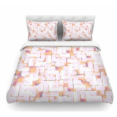 Cobble by Rachel Watson Featherweight Duvet Cover Size: Twin