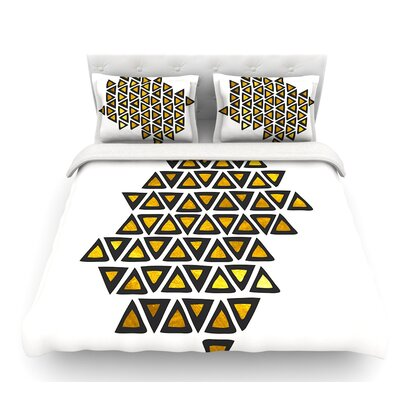 Inca Tribe by Pom Graphic Design Featherweight Duvet Cover Size: King