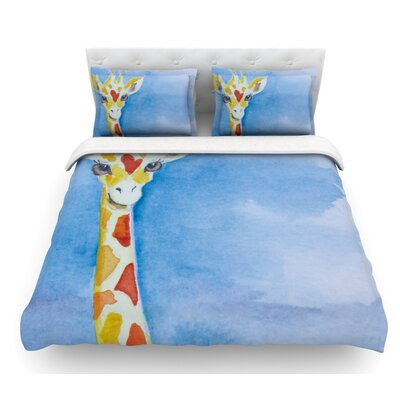 Topsy by Padgett Mason Featherweight Duvet Cover Size: King