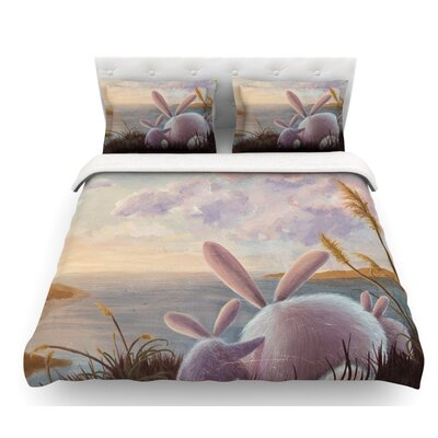 A New Perspective by Rachel Kokko Featherweight Duvet Cover Size: Twin