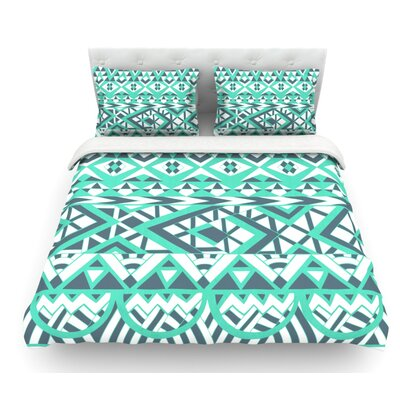 Tribal Simplicity by Pom Graphic Design Featherweight Duvet Cover Size: King
