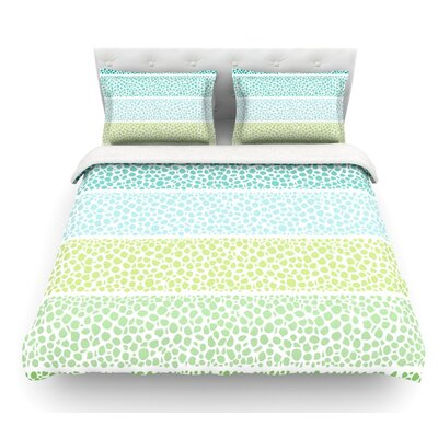 Zen Pebbles by Pom Graphic Design Featherweight Duvet Cover Size: King
