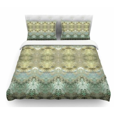 Heavenly Abstractation by Pia Schneider Featherweight Duvet Cover Size: Twin