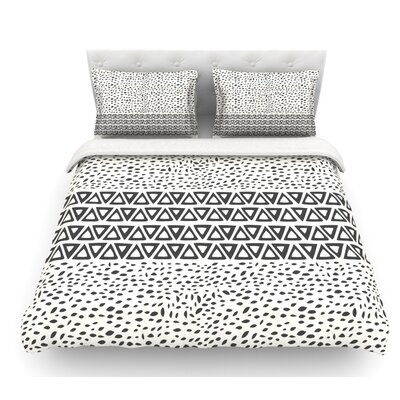 Wind Day by Pom Graphic Design Featherweight Duvet Cover Size: Twin
