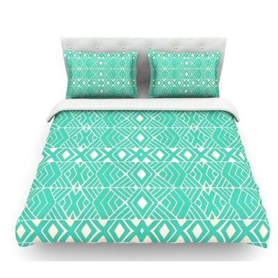 Going Native by Pom Graphic Design Featherweight Duvet Cover Size: Queen