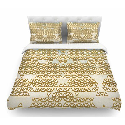 Empire by Pom Graphic Design Geometric Featherweight Duvet Cover Size: Twin