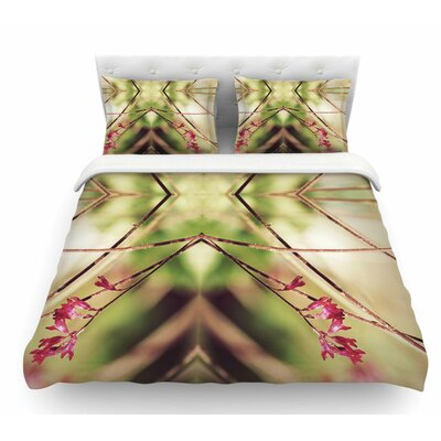 Spangles No.10 by Pia Schneider Abstract Featherweight Duvet Cover Size: Twin