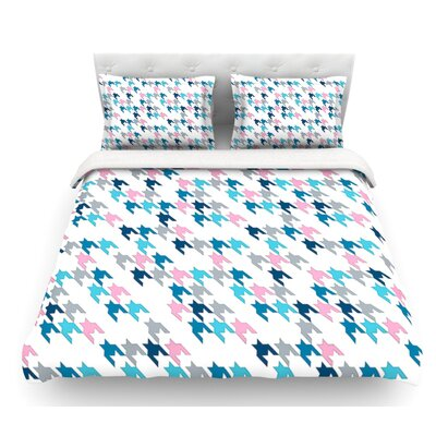 Tooth by Project M Blush Featherweight Duvet Cover Size: Twin, Color: Pink/Blue