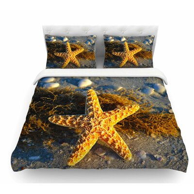 Starfish by Philip Brown Featherweight Duvet Cover Size: King
