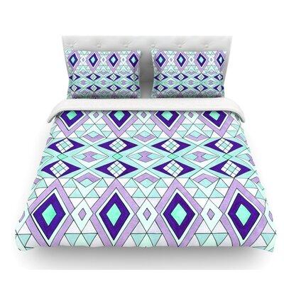 Gems by Pom Graphic Design Featherweight Duvet Cover Size: Queen
