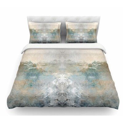Heaven II by Pia Schneider Mixed Mediia Abstract Featherweight Duvet Cover Size: Queen