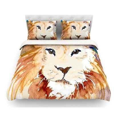 Leo by Padgett Mason Featherweight Duvet Cover Size: Twin