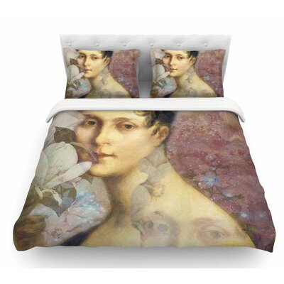 Magnolia Dream by Suzanne Carter Featherweight Duvet Cover Size: Twin