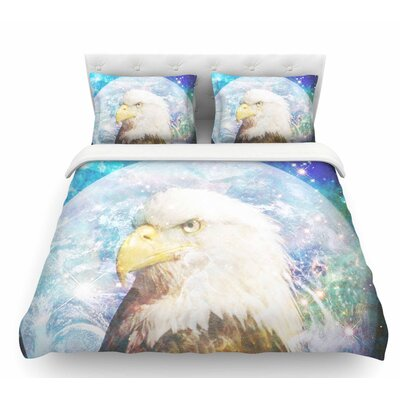 Space Cadet2 by Suzanne Carter Featherweight Duvet Cover Size: Queen