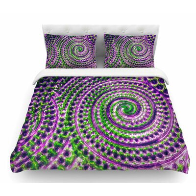 Color Inspiration by Sylvia Cook Featherweight Duvet Cover Size: Twin
