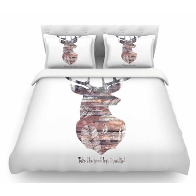 The Road by Suzanne Carter Featherweight Duvet Cover Size: Queen