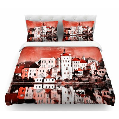 Sky at Night by Suzanne Carter Featherweight Duvet Cover Size: King